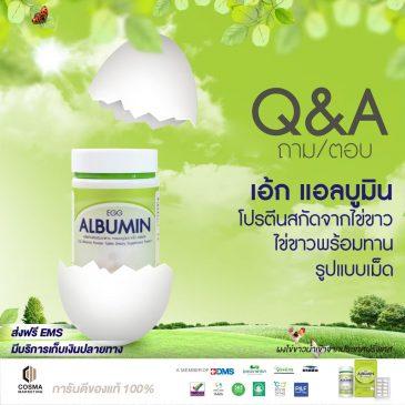 Q&A Egg Albumin